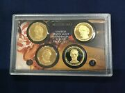 2010-s Presidential Dcam Proof Dollar 4 Coin Set Lot Of 13 Sets E7827