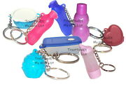 Tupperware Keychains Mixed Lot Of 8 Some Rare Cute Fun Sized Mini Gadgets New