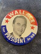 1968 Governor George Wallace For President In And03968-button