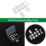 12pcs Windows Lift Panel Button Switch Cover Trim Fit For Range Rover 2013-17