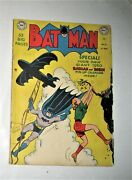 Batman 57 Golden Age Dc Comic Joker Funny Man Crimes Story 1950 Calendar