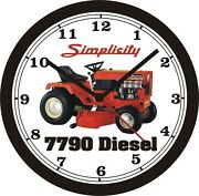 Simplicity 7790 Diesel Lawn Tractor Wall Clock-free Us Ship