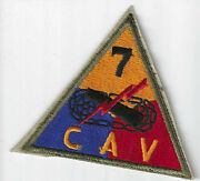 Post-war 7th Cavalry Pocket Patch