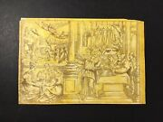 Old Master Drawing 17th Century Northern Italian Pen And Ink White Lead