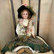 Bisque Doll Simon And Harubik 1159 Type Size Height Approx. 58 Cm Ship From Japan