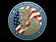 Tsa Transportation Security Administration Team Vermont Challenge Coin