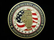 Tsa Transportation Security Administration Downstate Illinois Challenge Coin