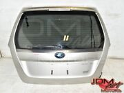 Used Jdm Subaru Forester Sti Xt 03-08 Sg5 Sg9 Replacement Silver Hatch / Trunk