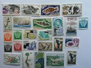 50 Different French South Antarctica Stamp Collection