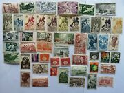 100 Different French West Africa Stamp Collection