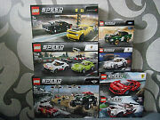 Lego Speed Champions - Various Setand039s For Selection - Nip