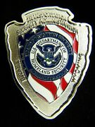 Tsa Transportation Security Administration Wyoming Silver Color Challenge Coin