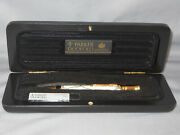 Parker Vintage Black And Pearl 0.9 Mm Pencil--new Old Stock