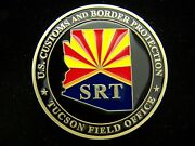 Us Customs And Border Protection Tucson Field Office Srt Challenge Coin