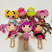 Lalaloopsy Dolls Full Size 13 Inches Lot Of 7 Toy