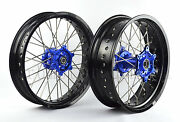 For Wr250r Front/rear 17/17 Supermoto Wheels Set 2008-2015 I Rmy06