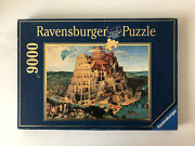 9000 Pieces Jigsaw Puzzle Ravensburger The Tower Of Babel Brueghel Rare Puzzle