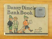Very Rare 1909 Danny Dimeand039s Kids Book 1 With Bank