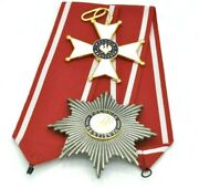 Polish Order Of Polonia Restituta Commanders Cross With Star Poland 1918