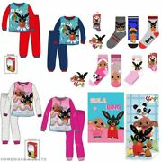 Childrens Kids Boys Girls Bing And Sula Charactor Nightwear Bedtime Accessories