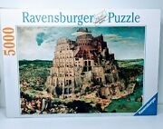 Ravensburger Puzzle 5000 Piece 174232 Tower Of Babel 40 X 60 Inches