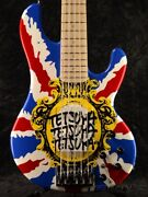 Edwards By Esp E-t-180bd Union Jack Electric Bass Guitar New Made In Japan