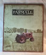 Farmall Mccormick - Deering Wooden Wall Sign 14 Tall By 11 3/4 Wide 13983