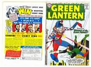 Facsimile Reprint Covers Only To Green Lantern 1 - 1960 Silver Age