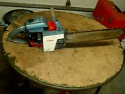 Vintage Blue Homelite Xl-12 Chainsaw Chain Saw With 16 Bar Very Nice Looking