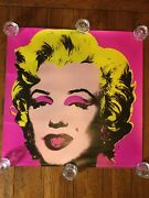 1993 Andy Warhol Marilyn Monroe Poster, 26x26, Free Shipping