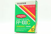 【brand New】 Fujifilm Fp-100c Instant Color Film Expired 10/2012 From Japan 714
