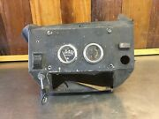 Mg Midget / Austin Healey Sprite Andbull Radio Console And Gauges. For Parts. Mg4143