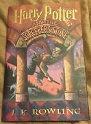 Harry Potter Sorcererand039s Stone First American Edition Jk Rowling Mint See Pics 98