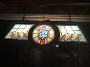 Vintage 1988 Old Style Beer Pool/poker Table Light 🎱🎱🎱 Local Pickup Only