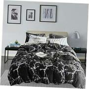 Comforter Set King Women Black And White King104and039and039 90and039and039 Black Marble
