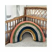 Rainbow Pillow Journey - Decorative Rainbow Pillow For A Child's Room