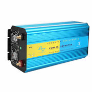 Lcd Display Usb 8000w Power Converter Pure Sine Wave Inverter For 12v Dc Vehicle