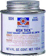 Permatex High Tack Gasket Sealant 4 Oz Brush Top Can 80062