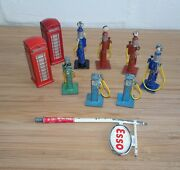 Vintage Original Dinky Telephone Boxes And Petrol Pumps - Choose From List 09810