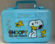 Snoopy And Woodstock Sewing Case - Japan