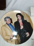 Delphi Elvis Presley Collector Plate Looking At A Legend Coa 1992 In Box Gift