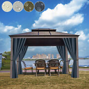 Home Patio Curtain Eyelets Outdoor Lawn Thermal Insulated Draps Waterproof Us