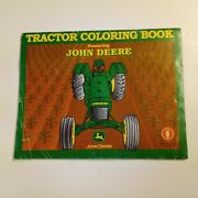 Tractor Coloring Book Featuring John Deere Harvest Moon Graphics 1919 To 1990s