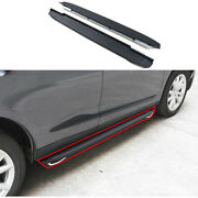 Aluminum Side Step Running Board Nerf Bar Protect 2pcs For 2019-2021 Acura Rdx