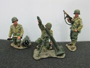 Dd32 King And Country Ww2 Us 3rd Infantry Mortar Gun Team Retired Brand New