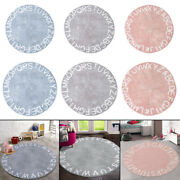 Abc Baby Rug Crawling Mat Soft Circle For Children Toddlers Shower Gift