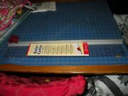 Sew Easyer4186rotary Cutter/ruler Combo4andfrac12 X 27andfrac12inquilt/sew/papercraft