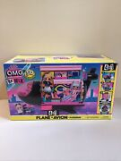 Lol O.m.g. Surprise Remix 4-in-1 Plane 50 Surprises Doll Playset New