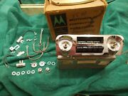 59 60 Impala El Camino Am Pushbutton Radio Full Kit Boxed Complete Knobs/speaker