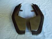 1969 Plymouth Sport Fury Front Bumper Guard Suburban Station Wagon Used Pair